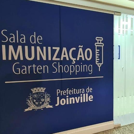 sala de imunização no garten shopping