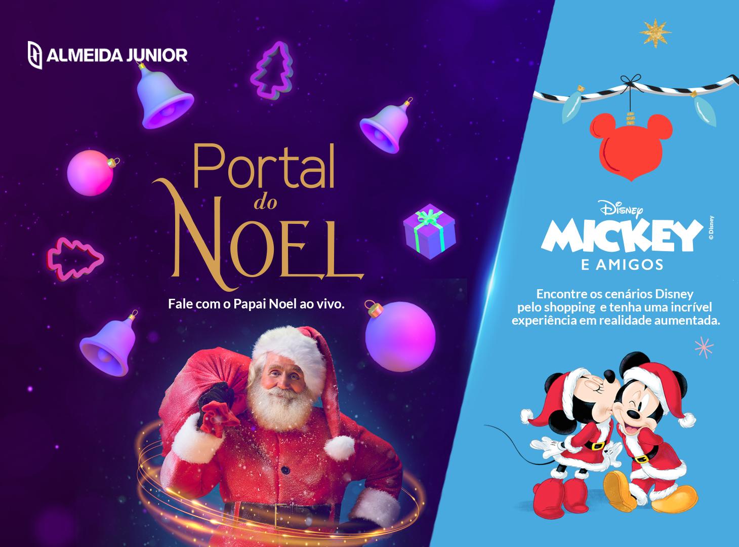 Digital Christmas Magic: Disney and Santa interactive attractions will surprise