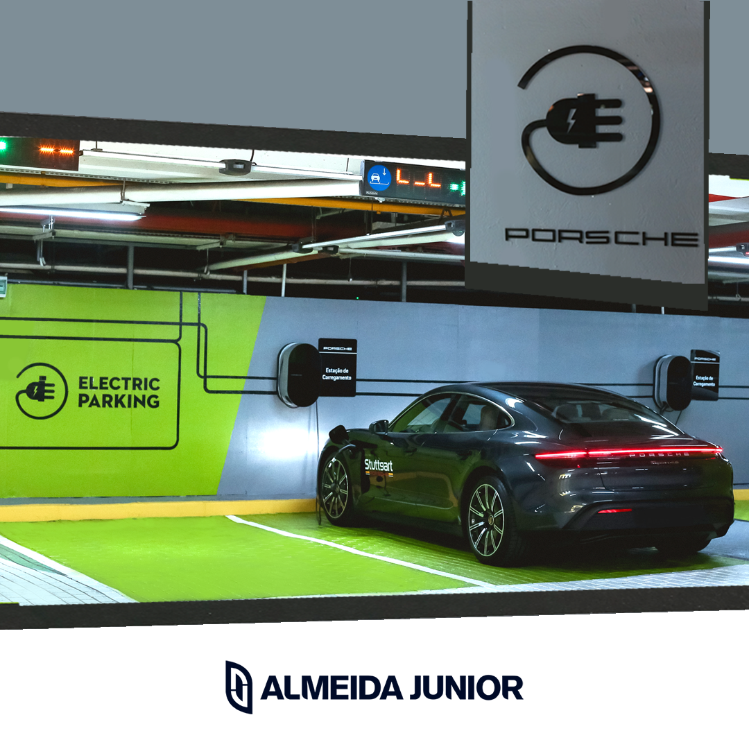 Malls Almeida Junior counts on recharging stations from Porsche Brazil for electric and hybrid vehicles
